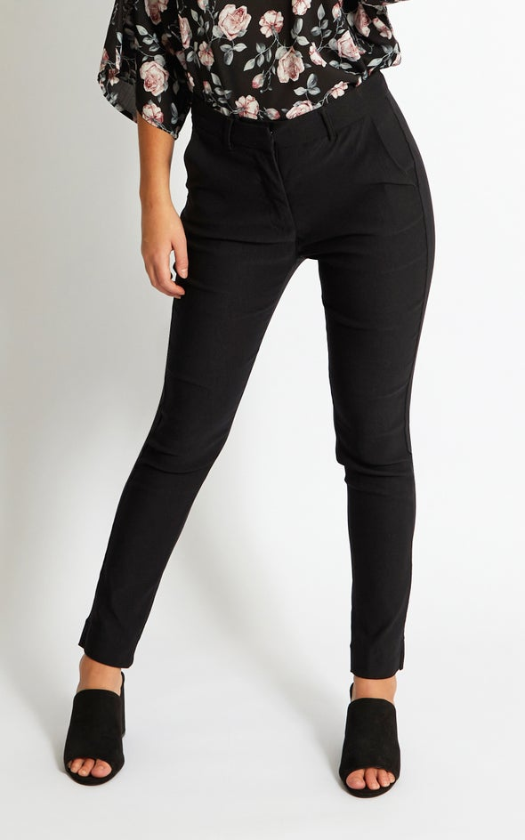 7/8 Beng Tailored Pant Black