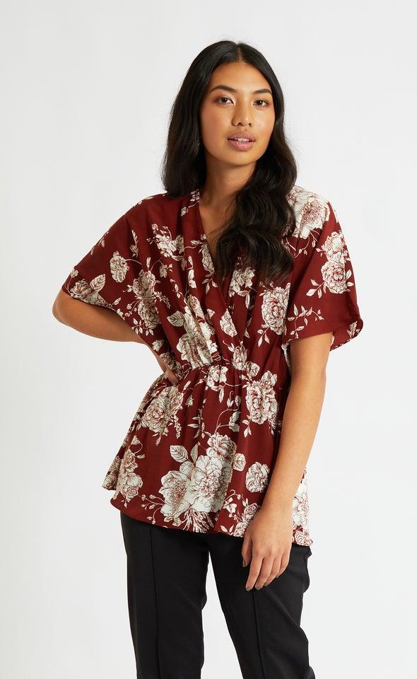 CDC Kimono Sleeve Top