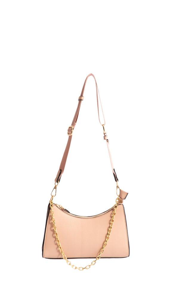 Chain Detail Handbag