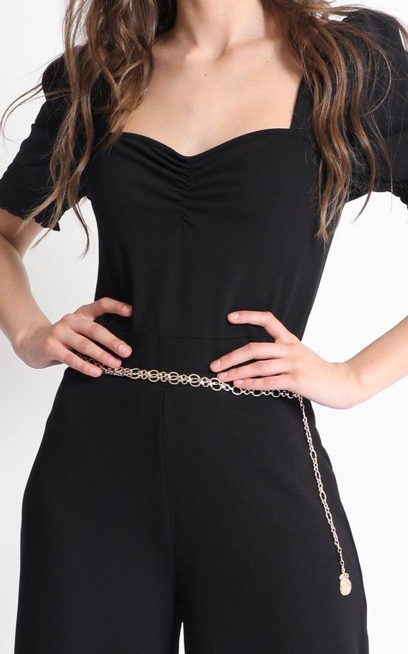 Chain Link Belt Gold