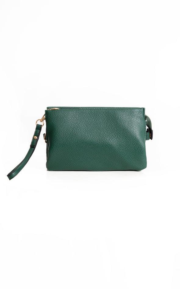 Cross Body Handbag Emerald