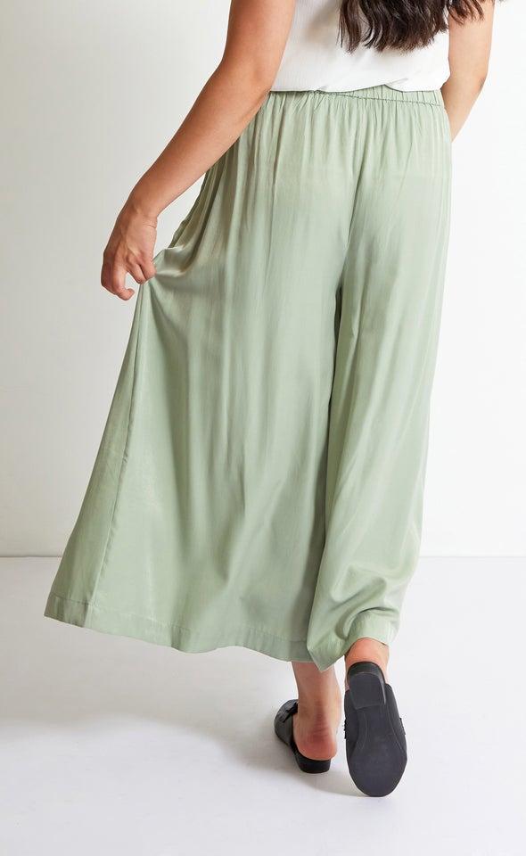 Culotte Style Pants Sage