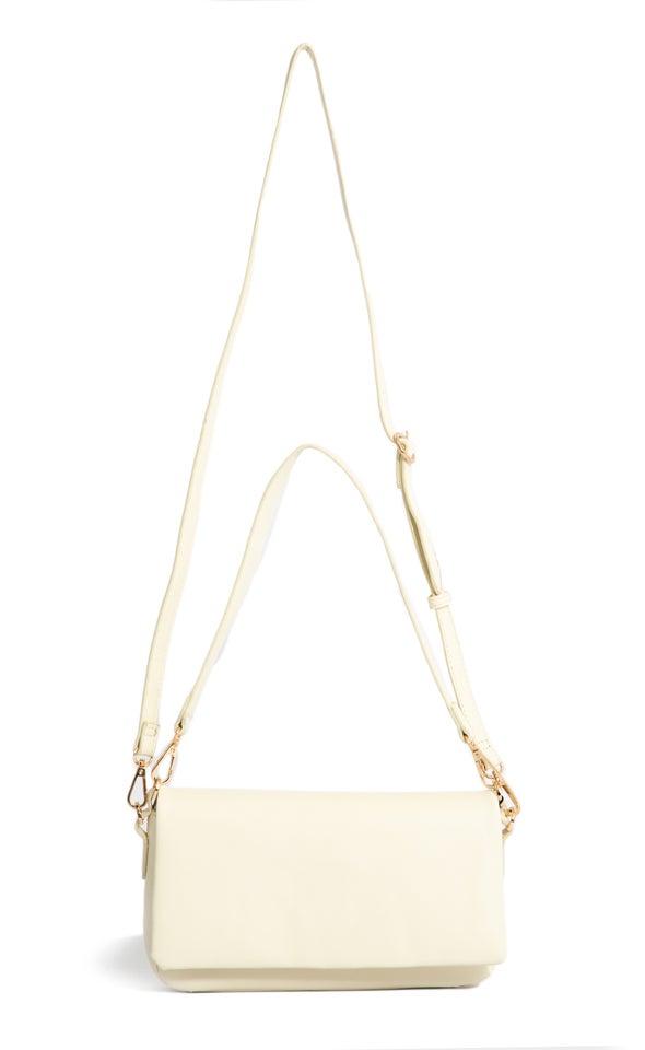 Embossed Satchel Bag