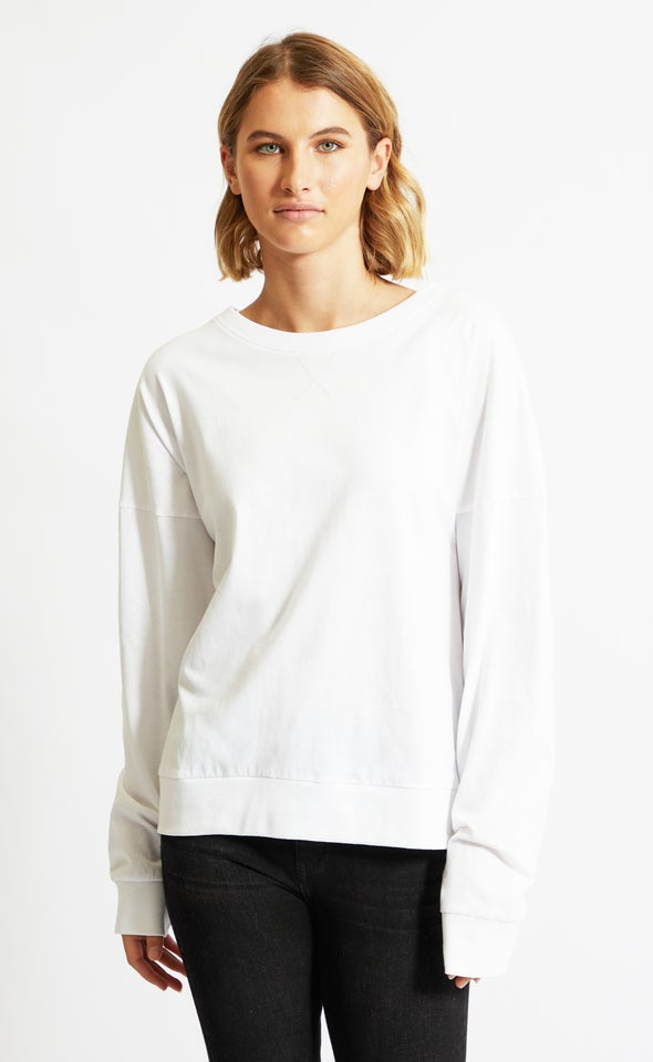 Jersey Oversize Slouch Tee