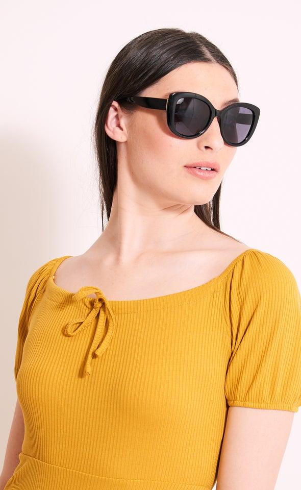 Large Cateye Sunglasses