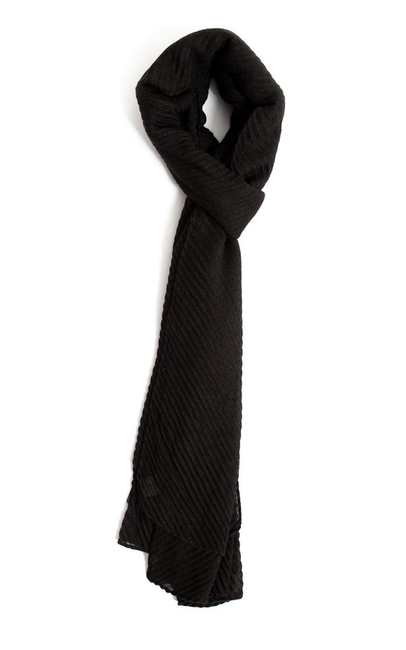 Lightweight Scarf Black