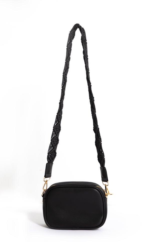 Macrame Strap Handbag