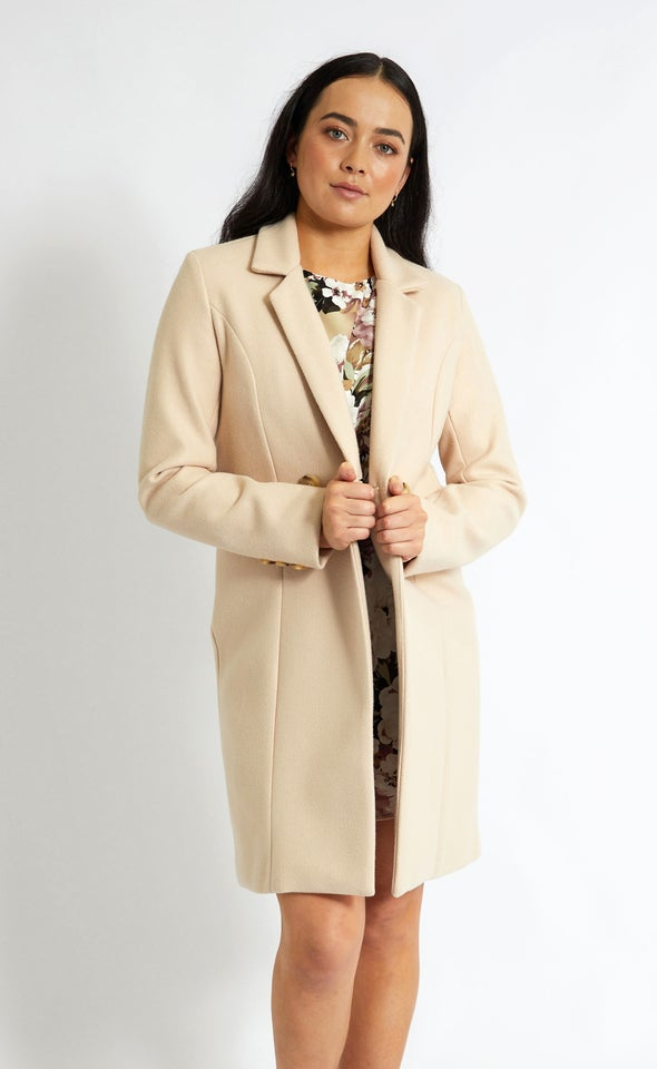 Mid Length Tailored Coat