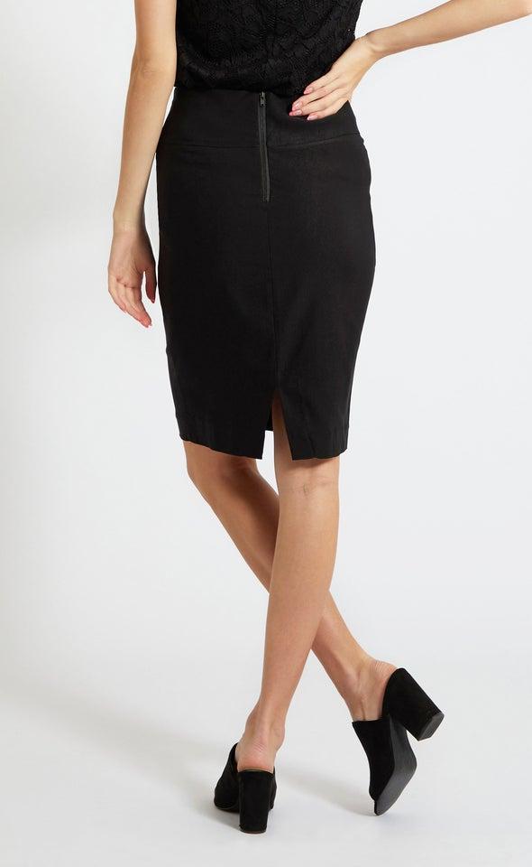 New Bengaline Skirt Black
