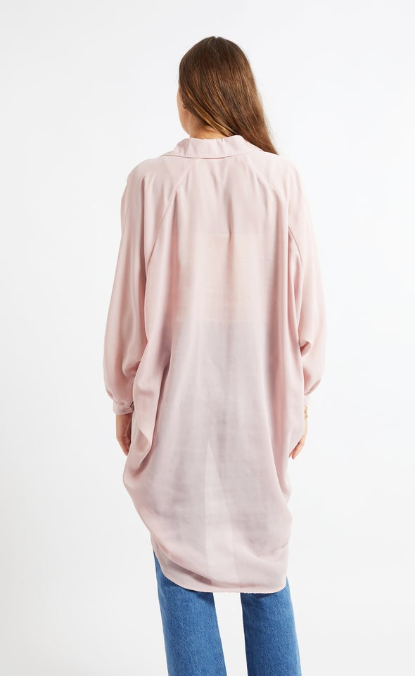 New Longline Shirt Blush