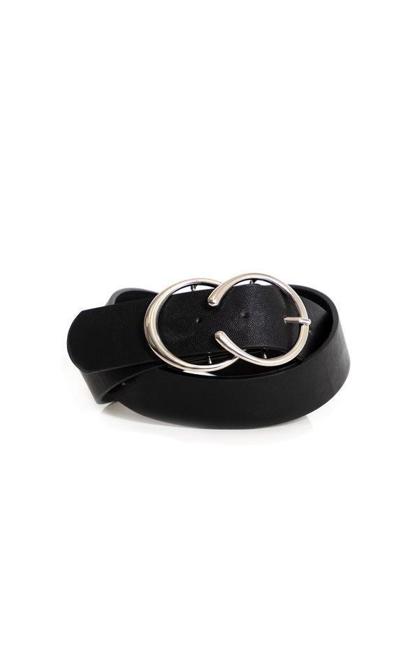 Open Ring Buckle Belt