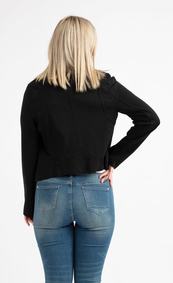 Ponte Biker Jacket Black