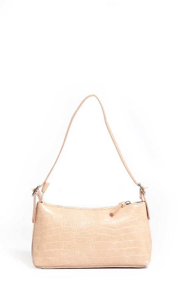 Rectangle Tote Bag Beige