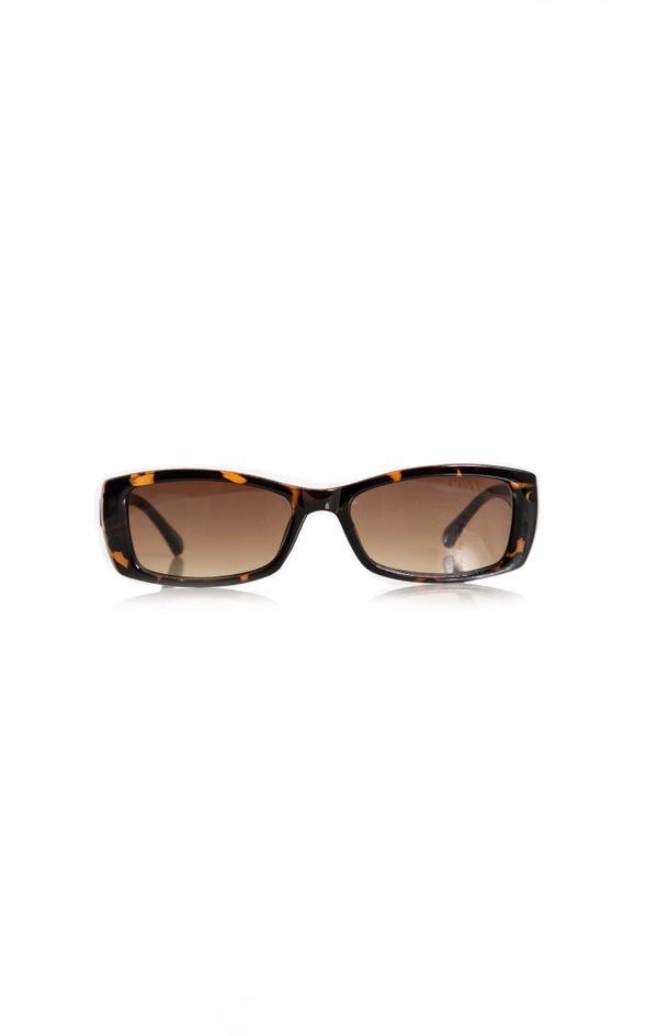 Rectangular Sunglasses Tortoiseshell