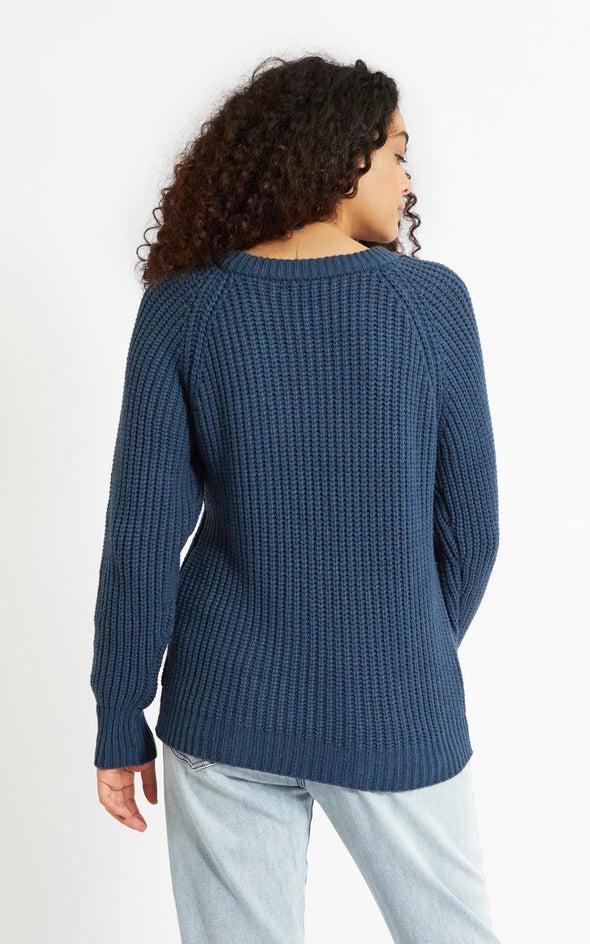 Round Neck Sweater Ink