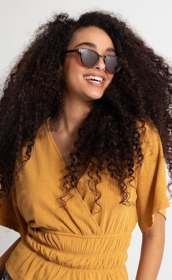 Semi Round Sunglasses