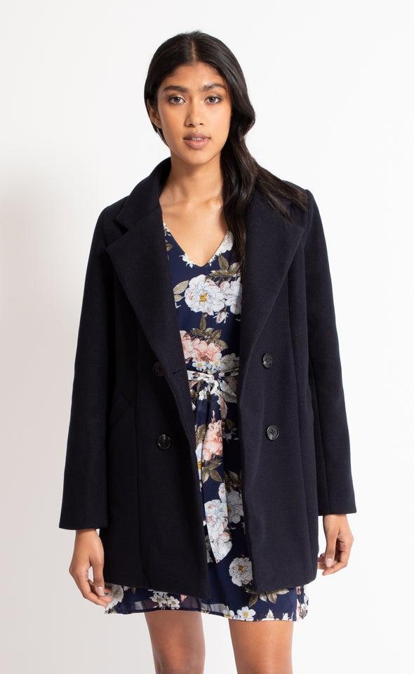 Short Tailored Coat