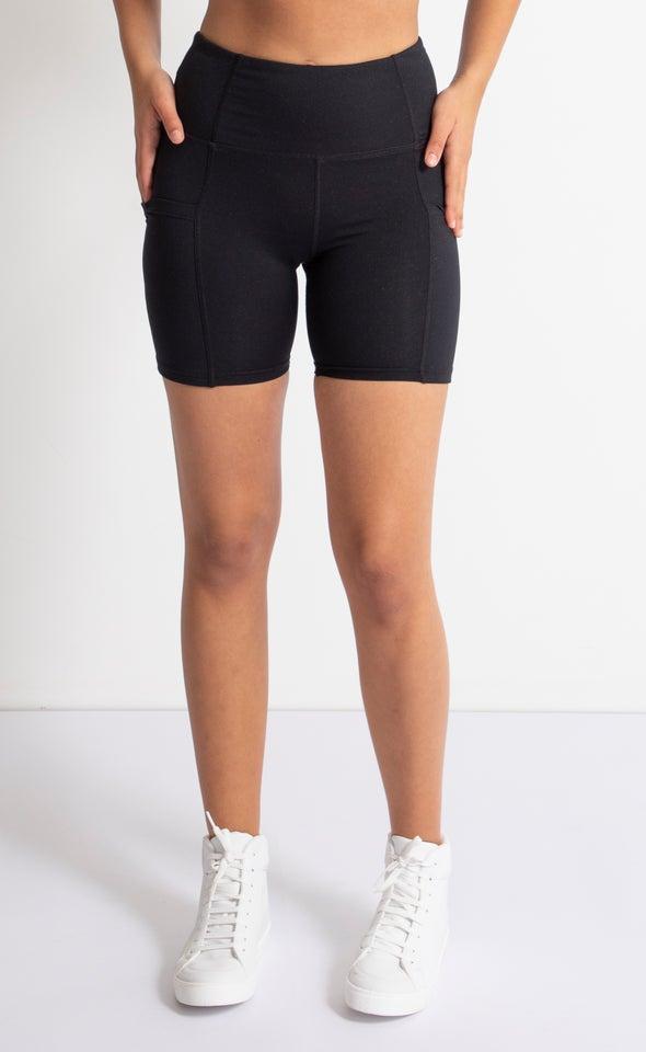 Side Pocket 6 Inch Bike Short