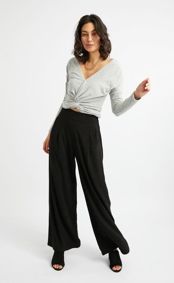 Side Pocket Wide Leg Pants