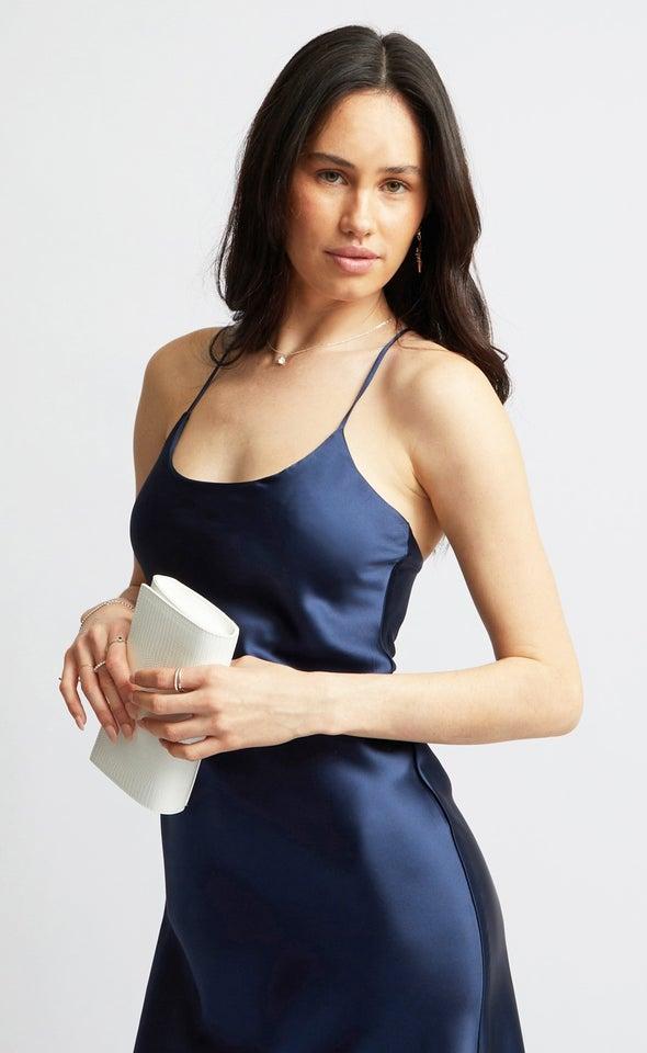 Slinky Strap Clutch White