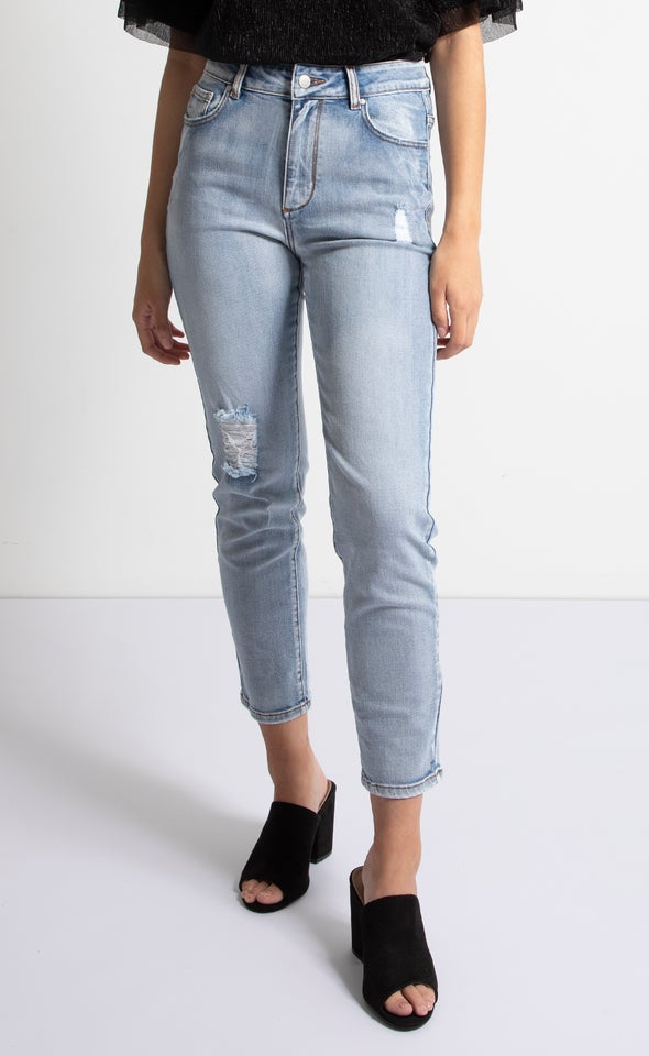 Soft Wash Straight Jeans