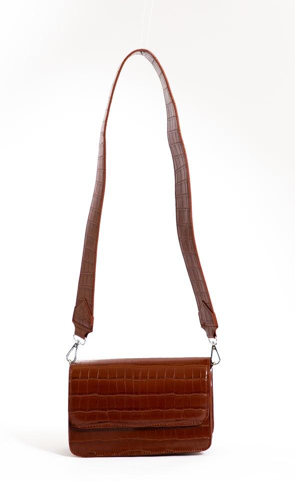 Square Satchel Bag