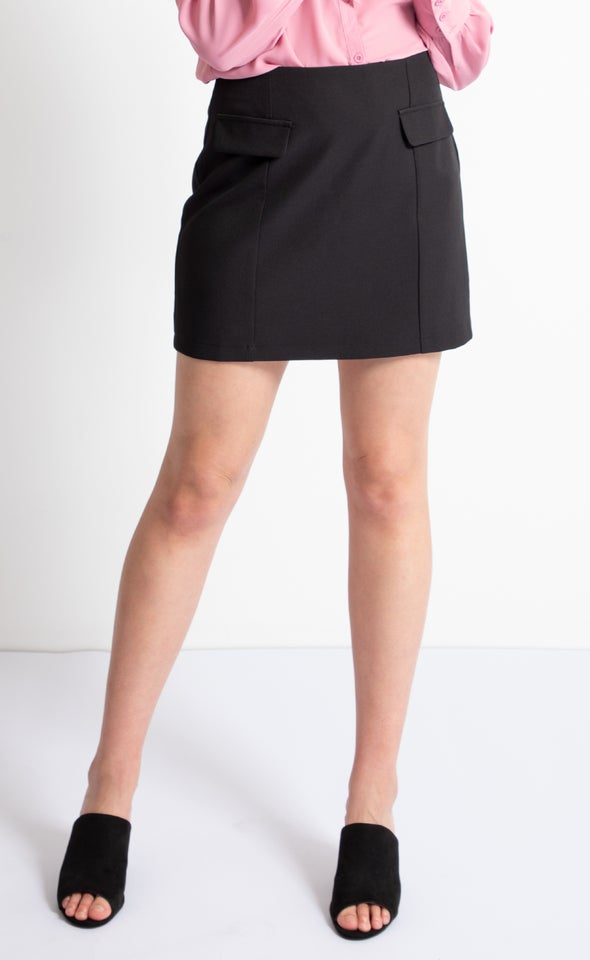 Suiting Mini Skirt