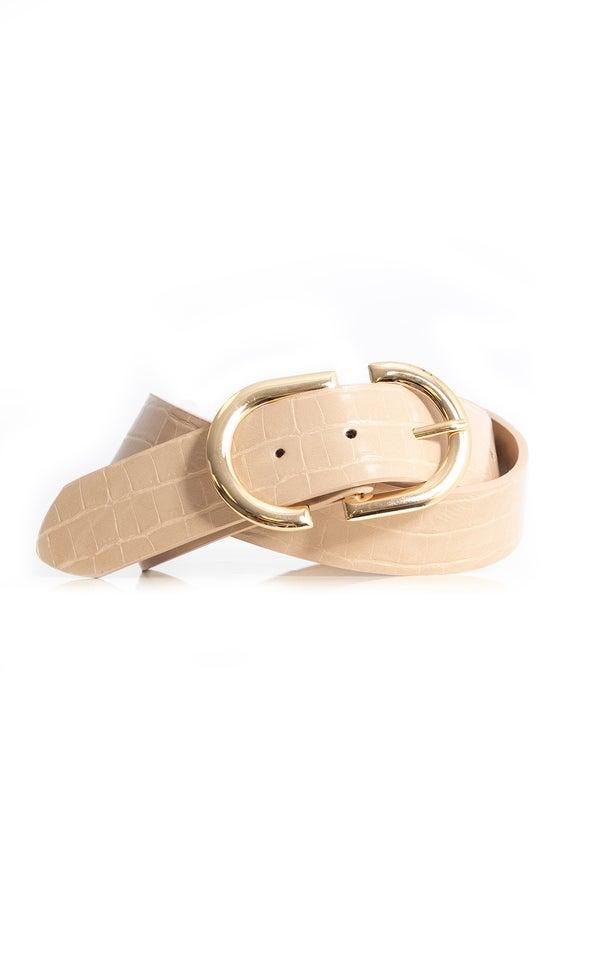 Symmetrical Buckle Belt