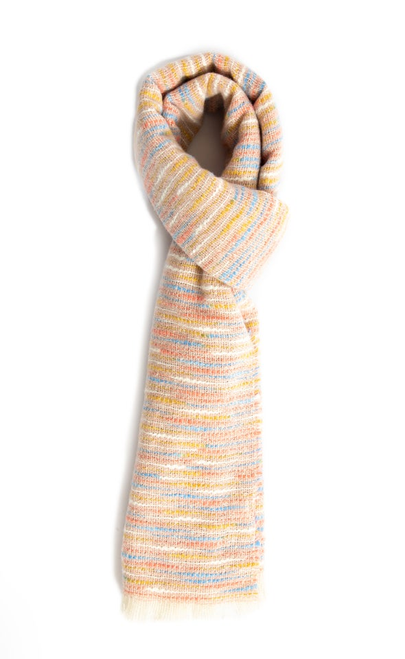 Two Tone Winter Scarf