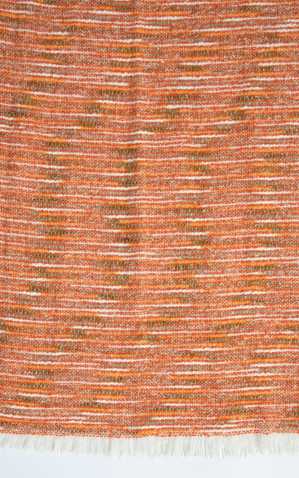 Two Tone Winter Scarf Orange
