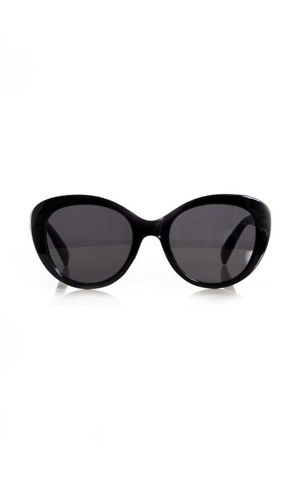 Wide Cateye Sunglasses