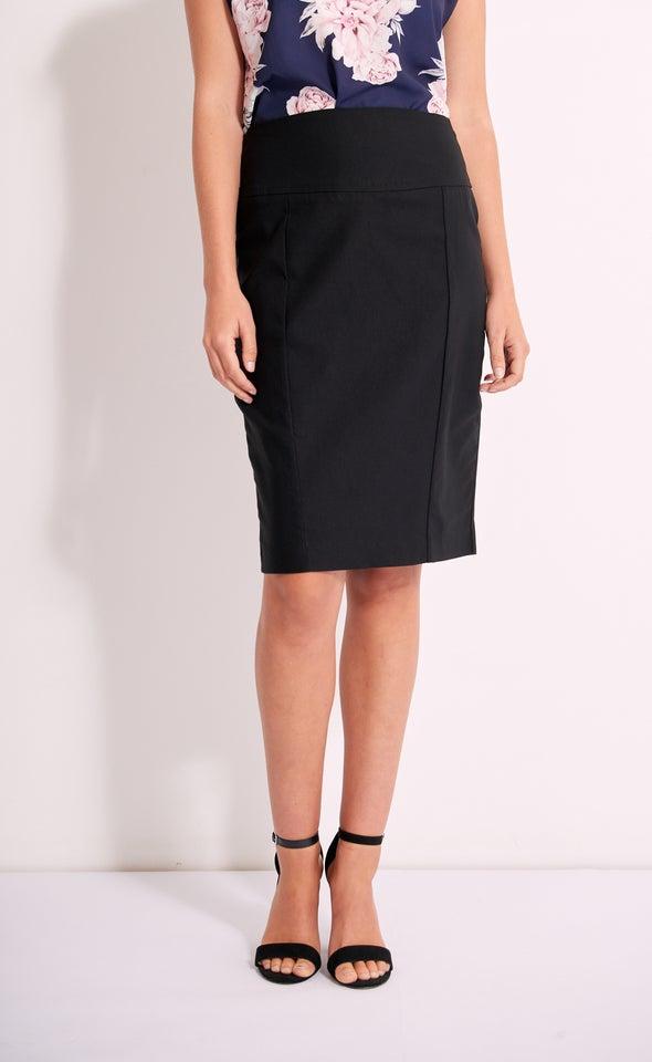 Wide Waistband Beng Skirt